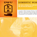 Domestic Workers United website